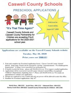 Cover photo for Time to Register for 2020-2021 Preschool