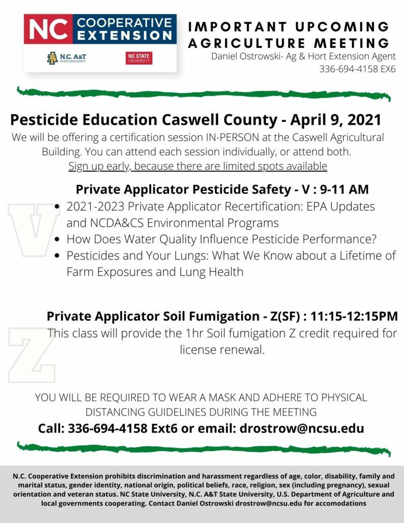pesticide education